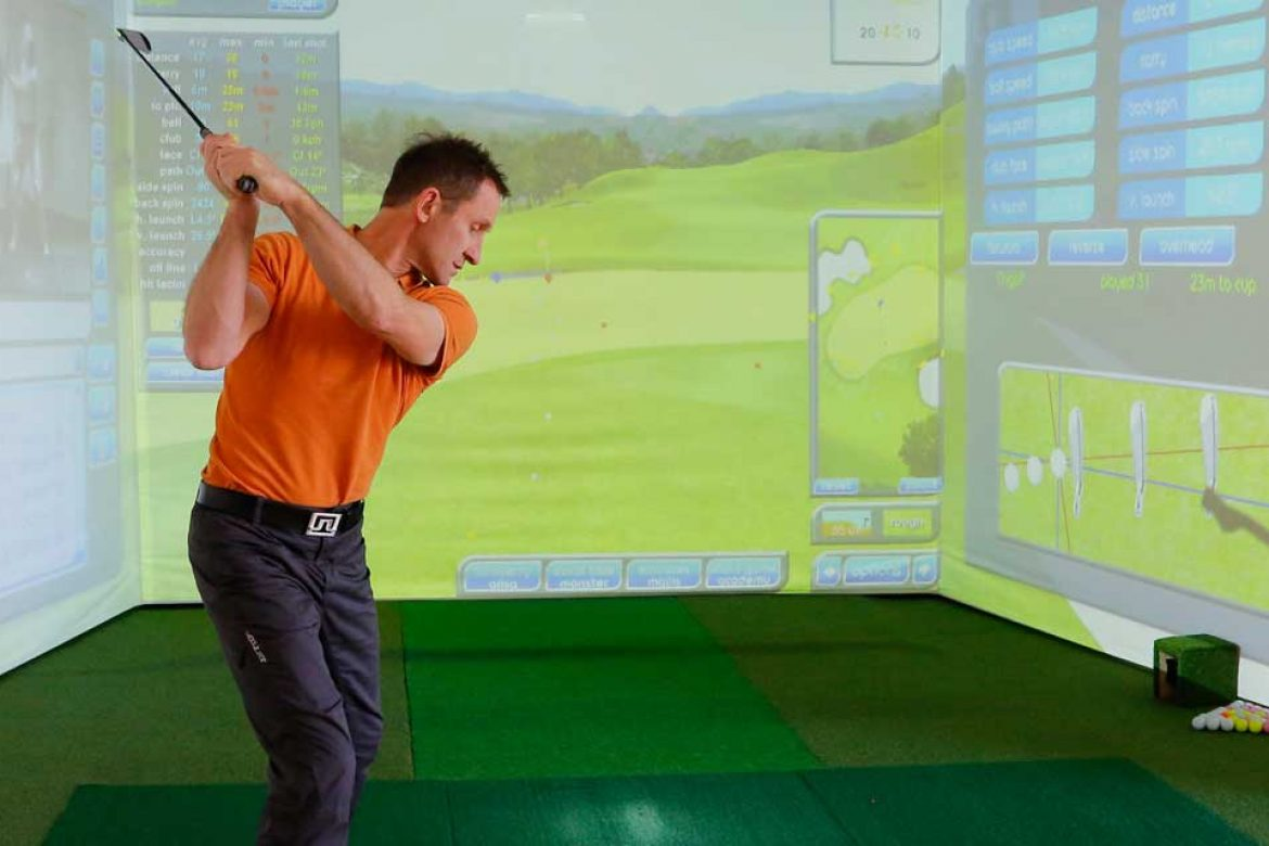 Indoor Golf Handicap verbessern Winter
