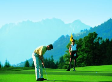Golf for free in den Bergen