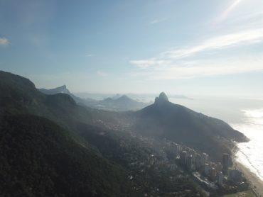 Rio de Janeiro, areal view from S.Conrado