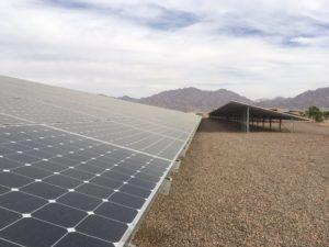 Ayla Golf Course, photovoltaik