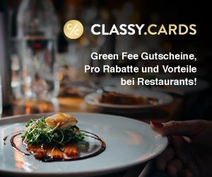 Foreeeeeee … die CLASSY | GOLF CARD geht online !