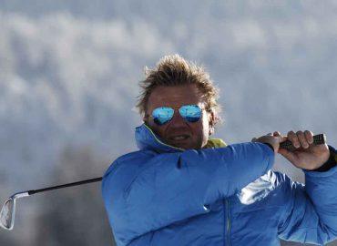Golf im Schnee – juchhee!!!